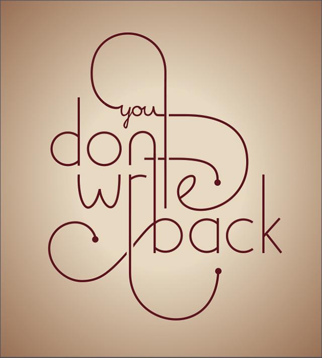 youDontWriteBack